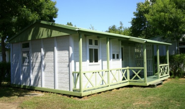 Chalet bois 6 pers 2 chambres