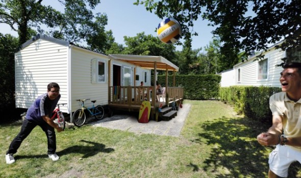Mobil home Confort - 4/6 personnes 2 chambres